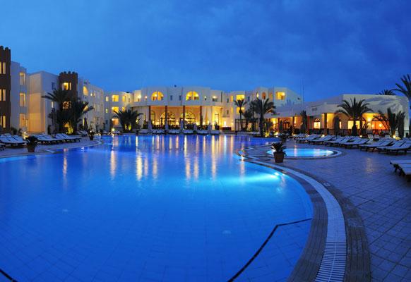 Exemple Facon De Entre Villa En Tunisie  Hôtel Green Palm 4 Tunisie